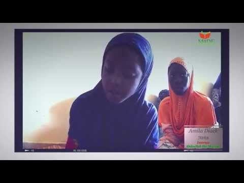 MAGNIFIQUE recitation du Coran jeune fille de 7ans MAASHALLAH I Beautiful Recitation girl I MaDE