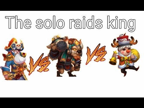 Lil' Nick Vs DD Vs Mino Castle Clash