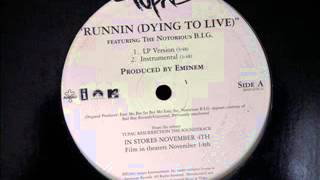 Tupac feat The Notorious B.I.G - Runnin (Dying to life)  - LP Version (vinyle)