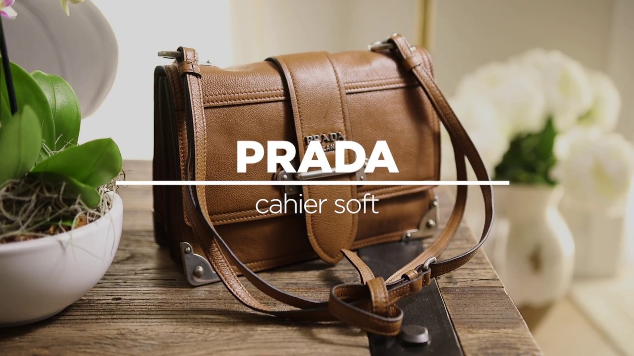 7af6d18c185 Introducing the Prada Cahier Soft Bag