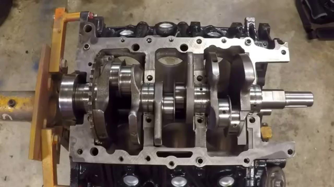 medium resolution of engine rebuild 3 7l 2006 jeep grand cherokee laredo part 7