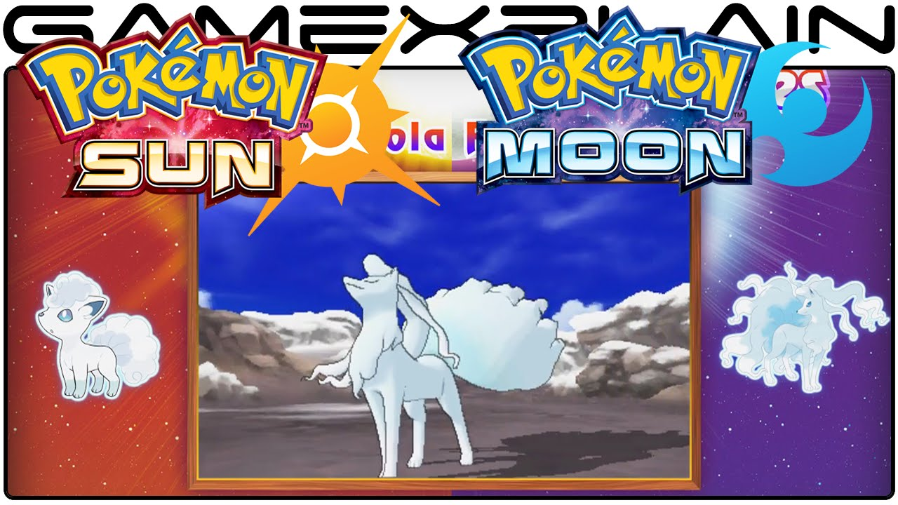 Pokémon Sun & Moon - Alola Forms & Z Moves Reveal Trailer - YouTube