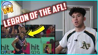 American Reacts to NAT FYFE Highlights for Fremantle | AFL