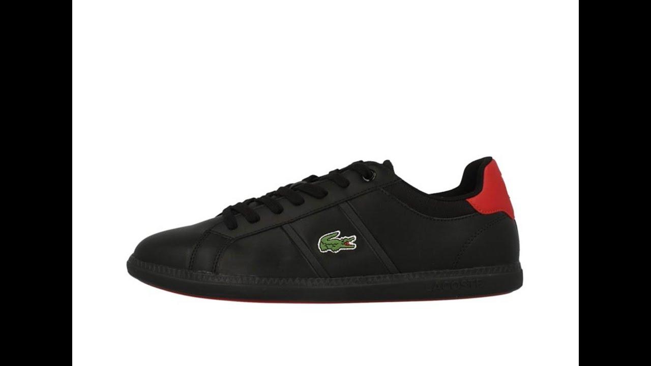 Lacoste Schoenen Rood