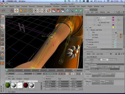 Tip25 Reposition Joints in CINEMA 4D
