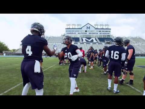 Maine Football Camp 2016 - 1st Practice