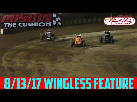 Angell Park Speedway - 8/13/17 - Wingless - Feature