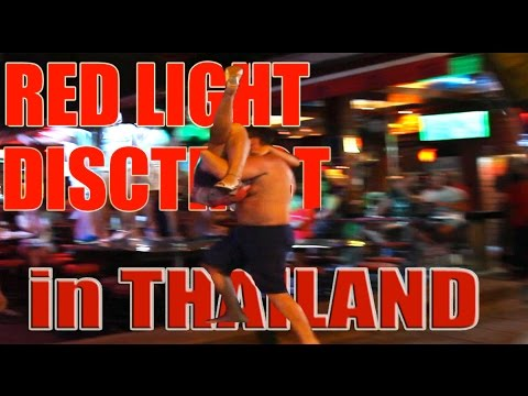 Thailand's Red Light District in HD Bangla Road in Patong Beach Phuket