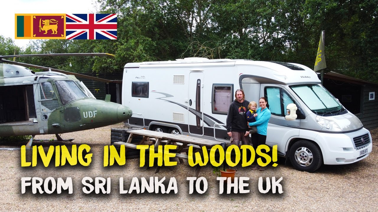 Living in the Woods?  Moving from Sri Lanka to the UK during Covid-19