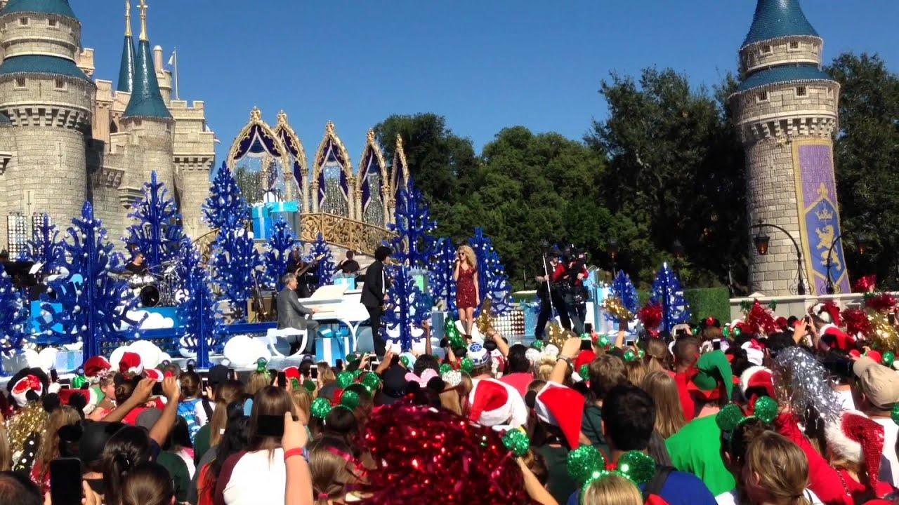 tori kelly winter wonderland disneys christmas day parade 2015 youtube - Disney Christmas Day Parade