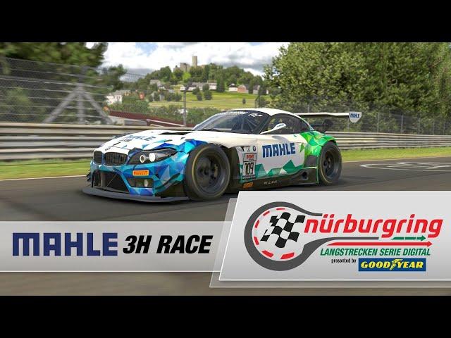 MAHLE 3h-Rennen – Rennen 2 Digitale Nürburgring Langstrecken-Serie presented by Goodyear