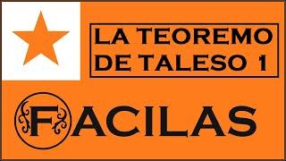 LA TEOREMO DE TALESO 1 (ESPERANTO)