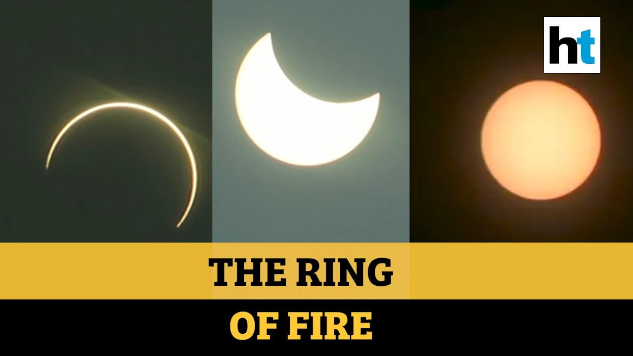 Solar Eclipse 2020: Watch captivating images of the 'ring of fire' from across the country