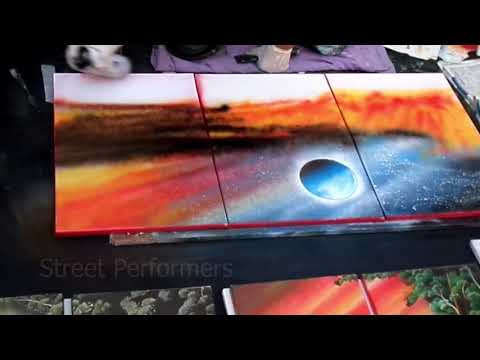 Spray Paint Artist – Street Artwork