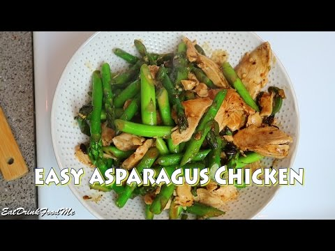 Easy Chinese Asparagus Chicken Recipe Easy Recipes Eps #29