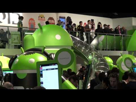 Google's Android Booth At MWC