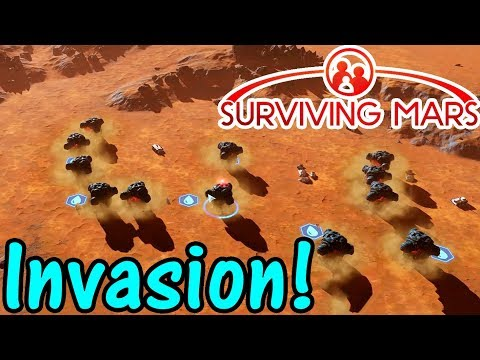 Let's Play Surviving Mars #14: Invasion!