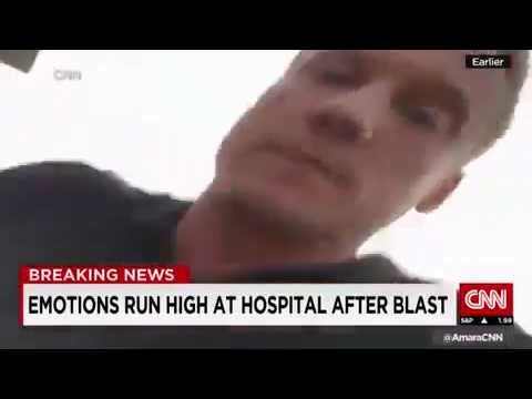 CNN reporter attacked while reporting Live on Chinese Tianjin blasts
