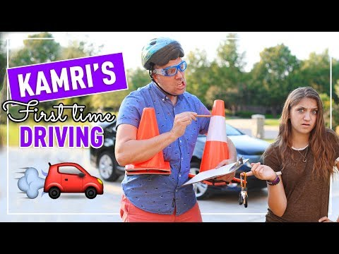 Dad Takes Me Driving For the First Time!   How Did I Do?