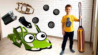 Новый сборник серий для детей про машинки конструкторы