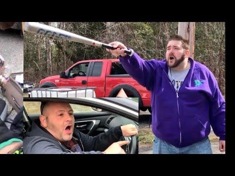 GRIM DESTROYS SWF PROMOTERS HOUSE! LANCE HIT BY A CAR!
