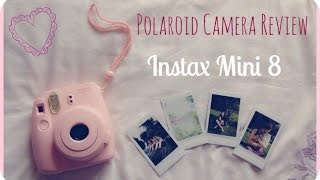 ♥ Polaroid Camera Review & DEMO! | Instax Mini 8 ♥