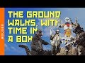 watch he video of The Ground Walks, with Time in a Box by Modest Mouse (Lyrics)