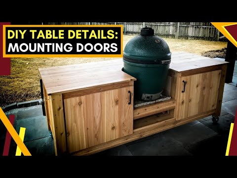 DIY Big Green Egg Table | Part 2