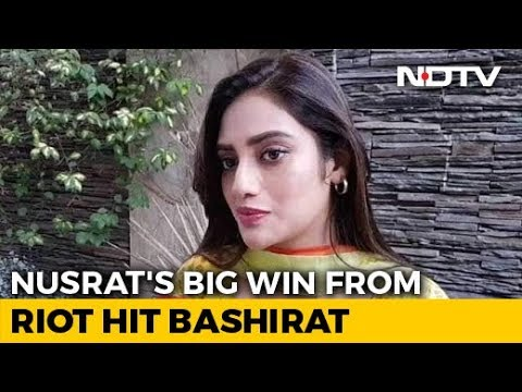 First-Time Lawmaker, Trinamool Congress's Nusrat Jahan, Has Big Plans For Bengal's Basirhat