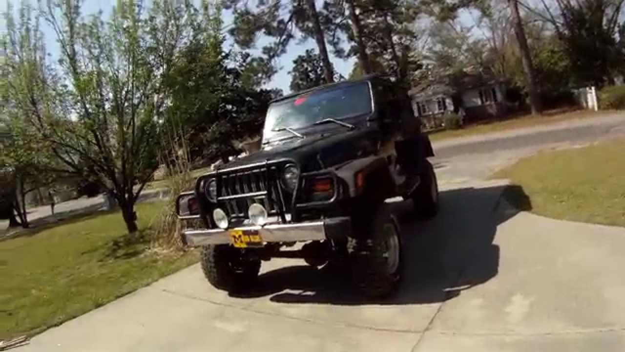 Rough Country 6 Inch Long Arm Lift Jeep Tj Youtube