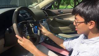 How To Remove Or Replace Steering Wheel On Honda Accord 2003-2007 | Auto Repair DIY Install Guide