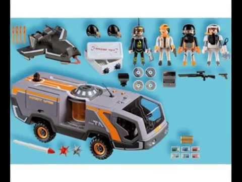 Playmobil 5286 cami n esp a youtube - Playmobil camion ...