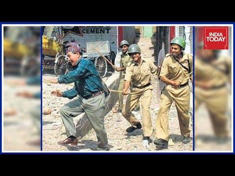 Police Lathicharge GJM Workers In Darjeeling