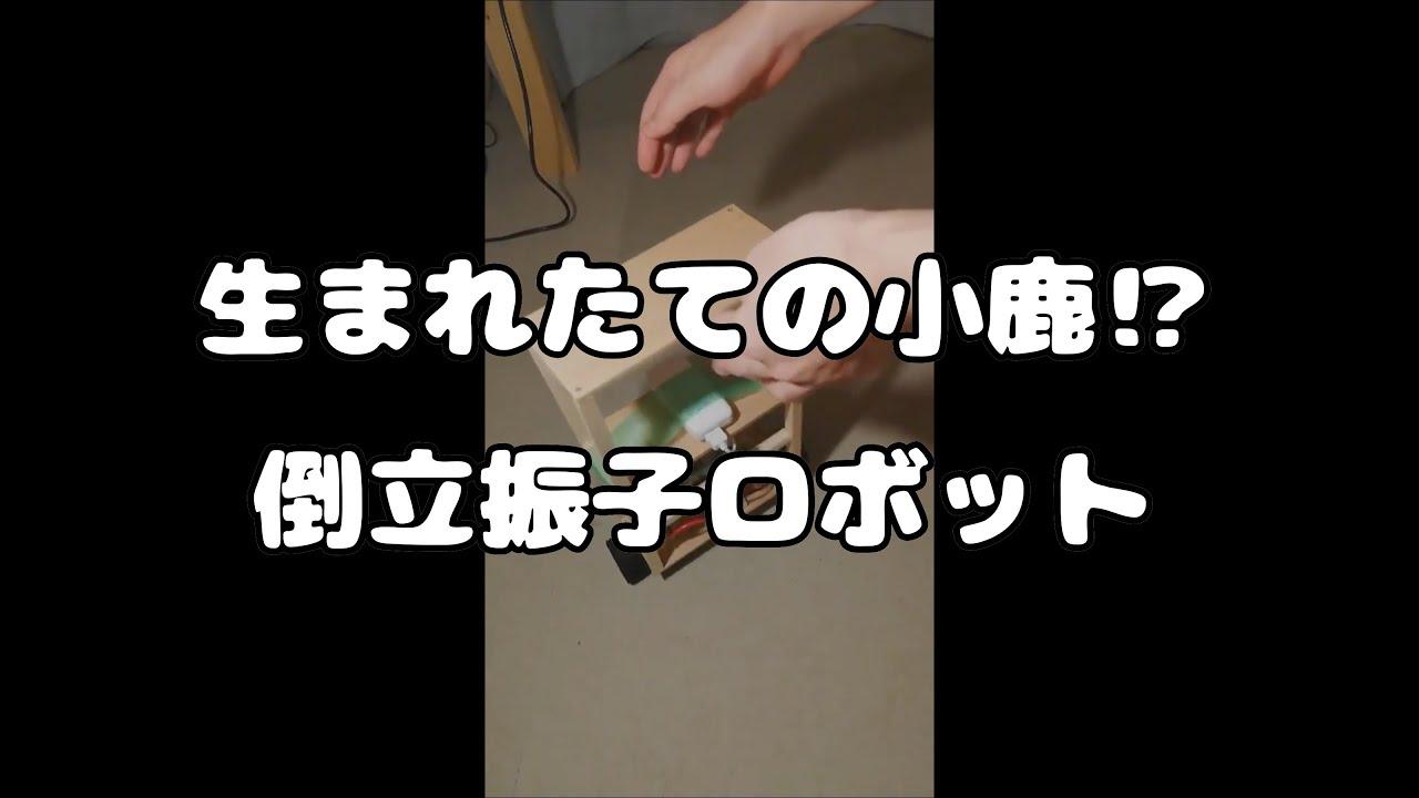 #2 生まれたての小鹿!?倒立振子(とうりつしんし)【Raspberry Pi】 - YouTube