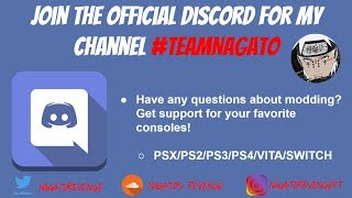 Join My Official Discord Modding Channel! #TEAMNAGATO