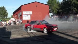 Auto Moto Show Skaryszew 2011 - palenie gumy