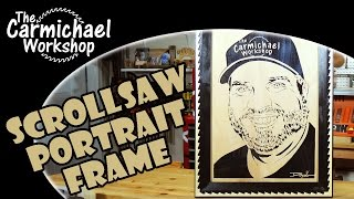 Scroll Saw Portrait Picture Frame