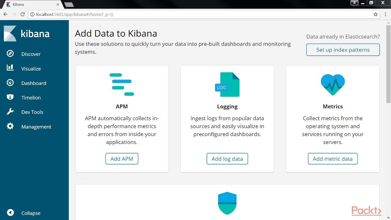 Learning Elastic Stack 6 0: Using the Kibana Console UI | packtpub com