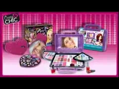 Clementoni Crazy Chic Makijaż I Stylizacje Dla Dziewczynek Reklama