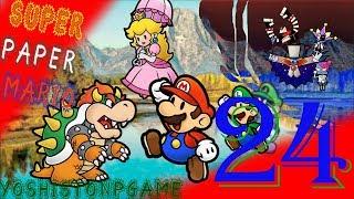 Dimencio en la Subida del Árbol【Super Paper Mario】Ep.24