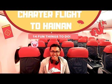 [SPESIAL IMLEK!] CHARTER FLIGHT JAKARTA TO HAIKOU + 14 THINGS TO DO IN HAINAN!