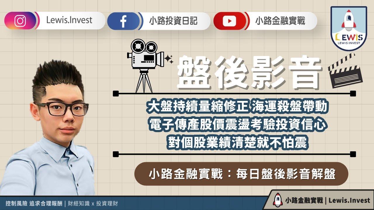 #小路投資日記 股價震盪考驗投資信心