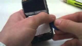 Výmena: LCD displej, dotykove sklo Nokia E71 disassembly