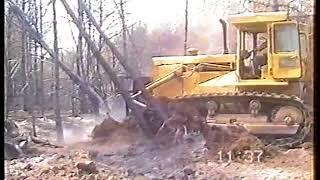 Pożar lasu Orlina czerwiec 1992