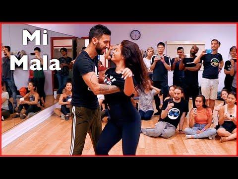 Mau y Ricky, Karol G - Mi Mala Dance | Brazilian Zouk | Thayná Trovick & Léo Chaffe | NYC Festival