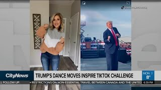 Trump's dance moves inspire TikTok challenge