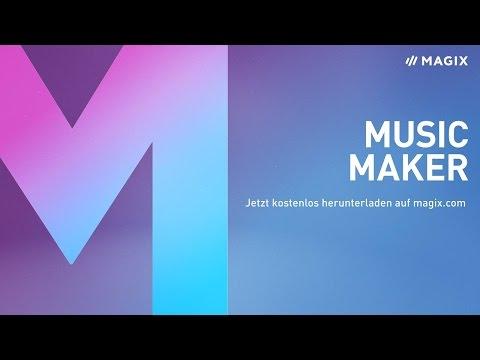MAGIX Music Maker – Die kostenlose Vollversion