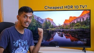 iFFalcon 40F2A TV impressions! HDR 10 & Android TV in just 20,000!