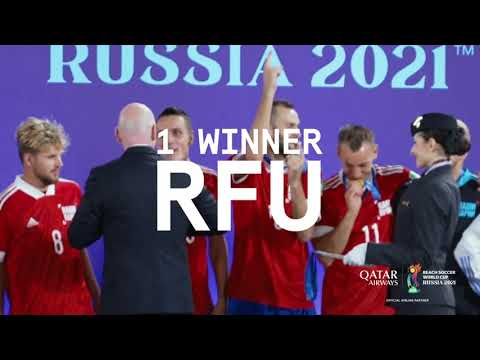 Wrapping up the FIFA Beach Soccer World Cup Russia 2021 | Qatar Airways
