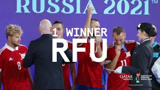 Wrapping up the FIFA Beach Soccer World Cup Russia 2021™ | Qatar Airways